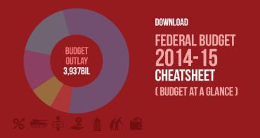 Download Federal Budget 2014-15 Cheatsheet
