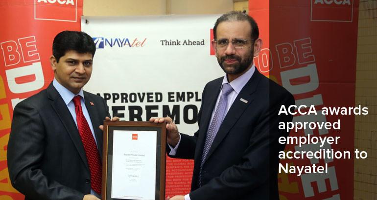 Acca Pakistan Nayatel Employer Accredition